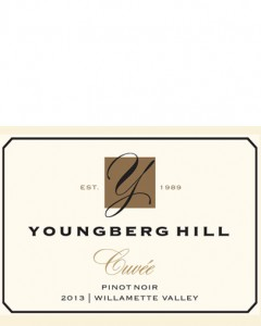 2013 Youngberg Hill Pinot Noir Cuvee