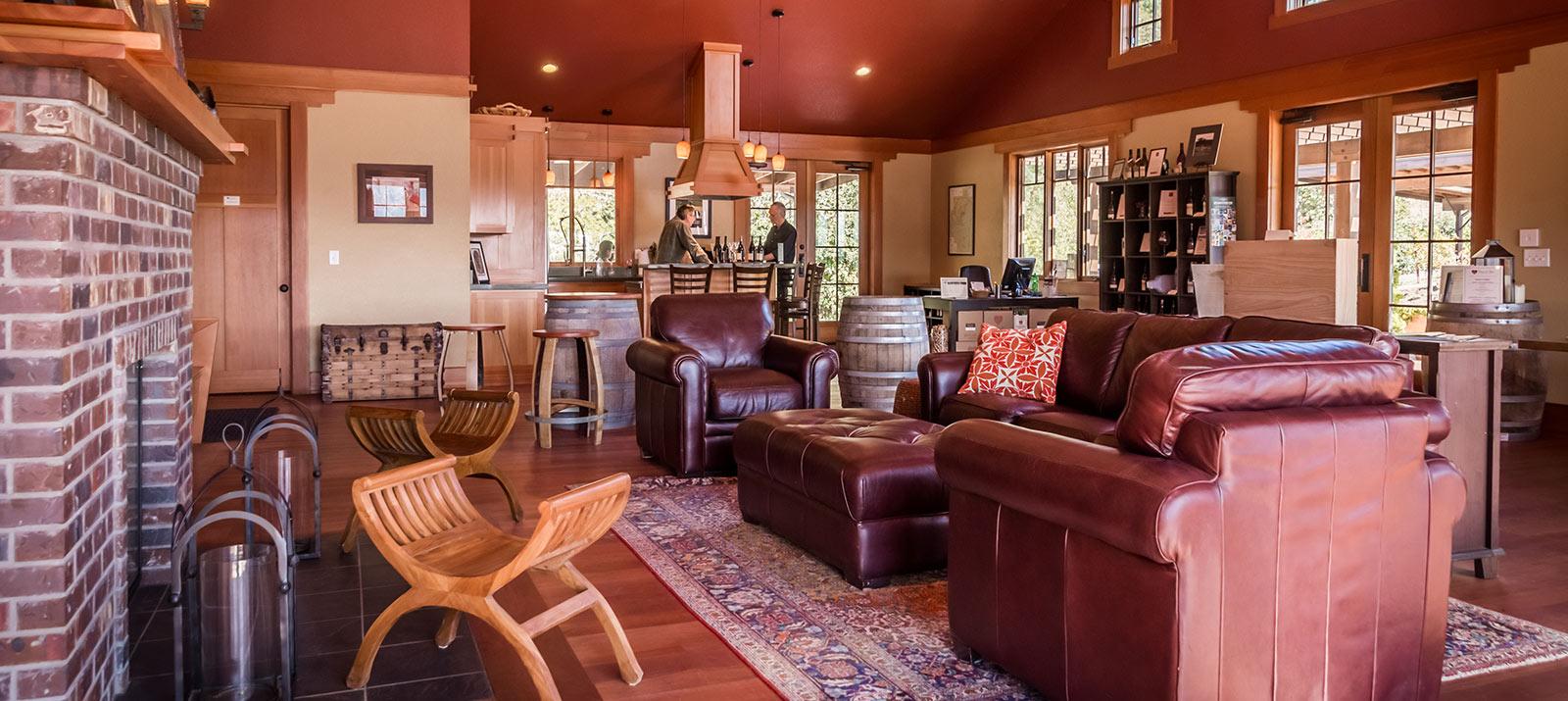 Coeur de Terre winery tasting room