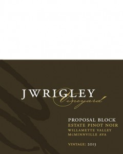 J Wrigley Vineyard Proposal Block