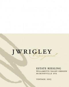 J Wrigley Vineyard Riesling 2015
